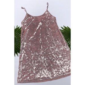 NWT Victoria's Secret Velvet Slip Dress M / L